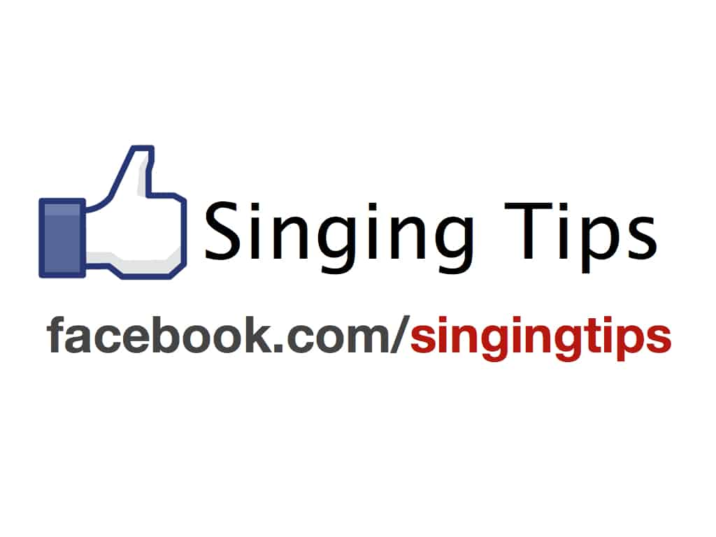 Like Singing Tips on Facebook